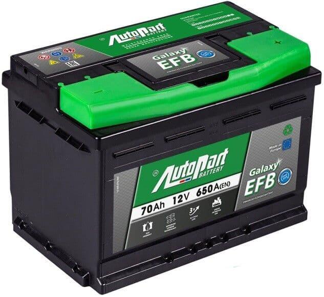 Аккумулятор Autopart EFB700 70 А/ч Start-Stop