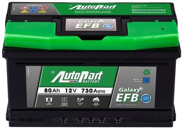 Аккумулятор Autopart EFB800 80 А/ч Start-Stop