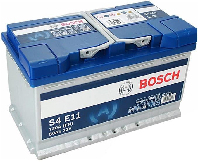 Аккумулятор Bosch S4E 0092S4E111 80 А/ч EFB