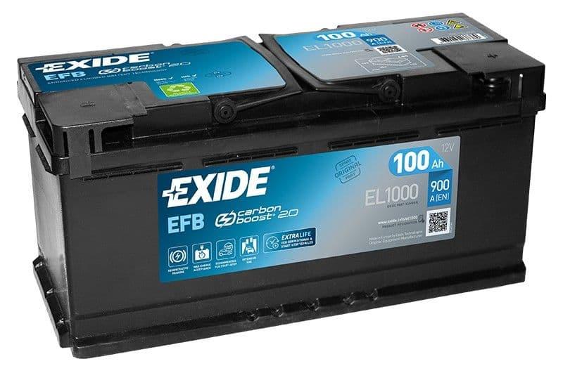 Аккумулятор Exide EL1000 100 А/ч EFB Start-Stop