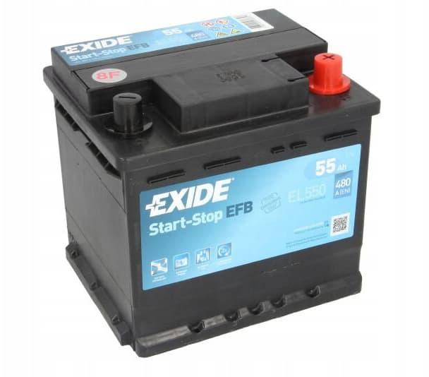 Аккумулятор Exide EL550 55 А/ч EFB Start-Stop