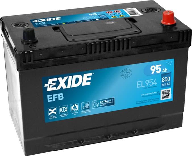 Аккумулятор Exide EL954 95 А/ч EFB Start-Stop