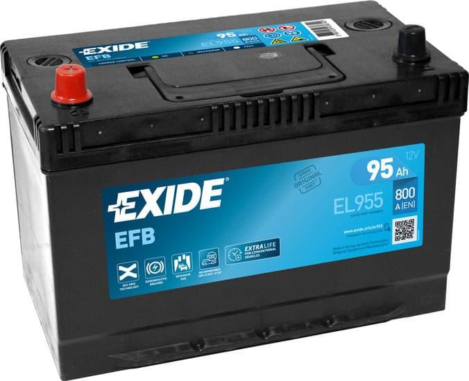 Аккумулятор Exide EL955 95 EFB Start-Stop А/ч
