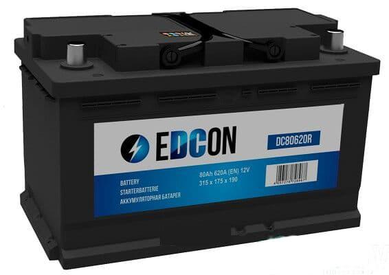 Аккумулятор Edcon DC80620R 800 А/ч