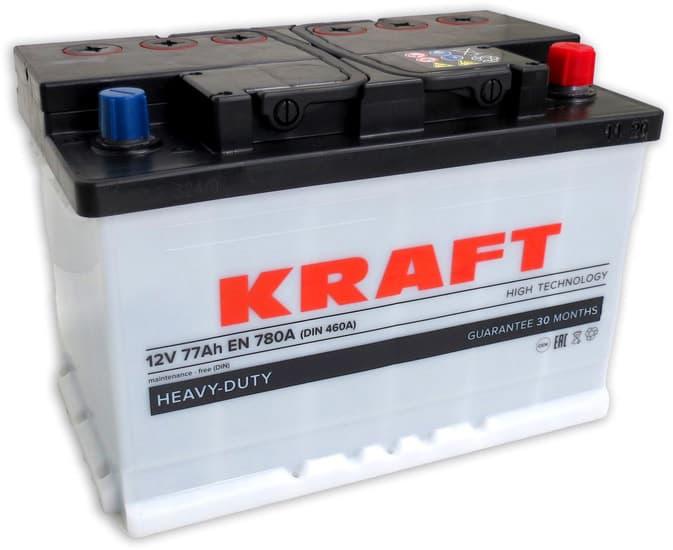 Аккумулятор KRAFT KR77.0 77 А/ч