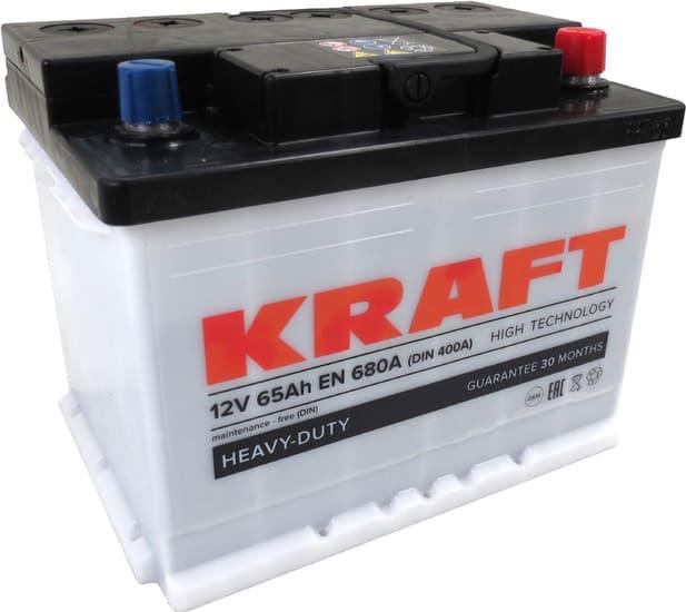 Аккумулятор KRAFT KR65.0 65 А/ч