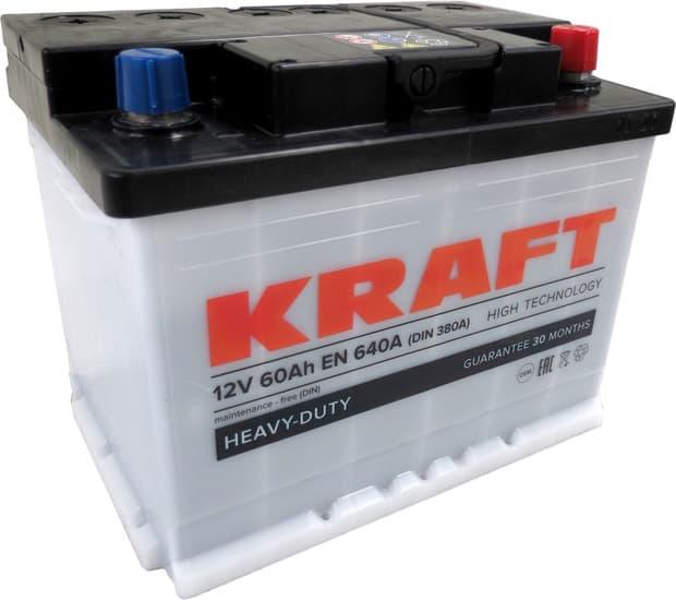 Аккумулятор KRAFT KR60.0 60 А/ч