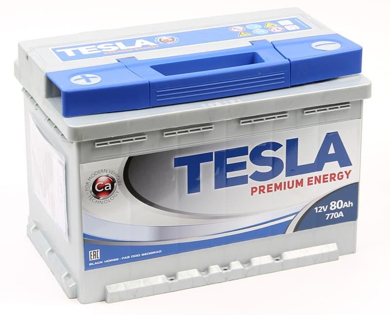 Аккумулятор TESLA TPE80.0 low 80 А/ч