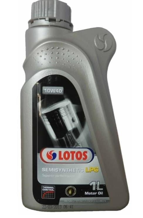 Моторное масло Lotos SEMISYNTHETIC LPG SL 10W-40 1л