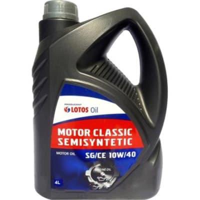 Моторное масло Lotos MOTOR CLASSIC 10W-40 4л