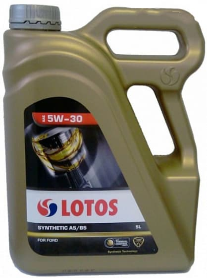 Моторное масло Lotos SYNTHETIC A5/B5 5W-30 5л