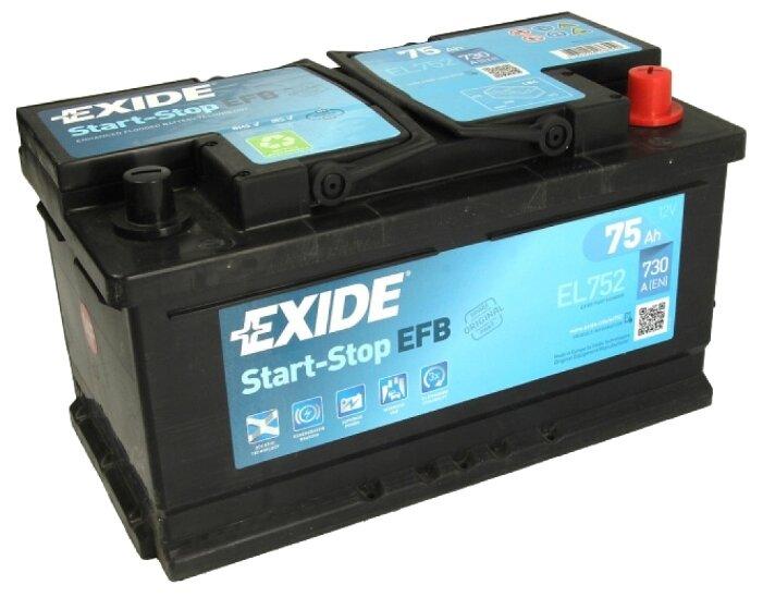 Аккумулятор Exide Start-Stop EFB EL752 80 А/ч
