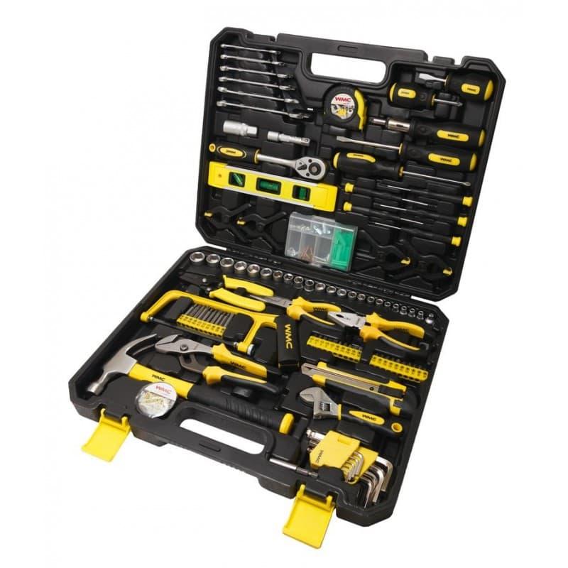 Универсальный набор инструментов WMC Tools 168 предметов 30168