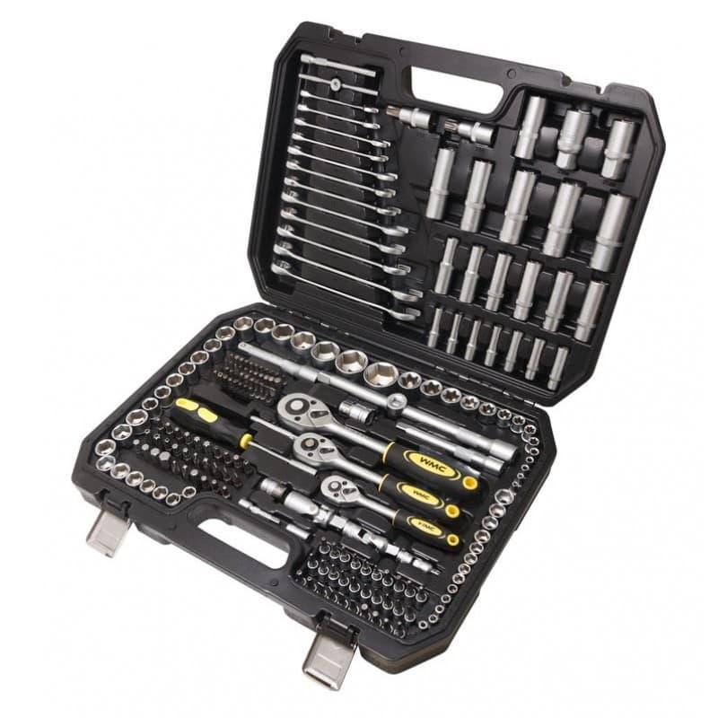 Универсальный набор инструментов WMC Tools 216 предметов 38841