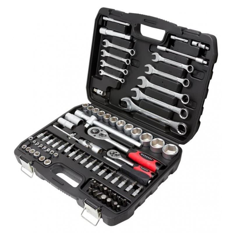 Универсальный набор инструментов Marshal 82 предмета MT-482