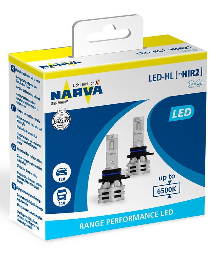 Лампа светодиодная Narva HIR2 Range Performance LED 2шт