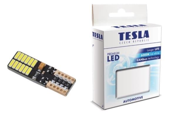 Лампа светодиодная Tesla W5W LED B95201 2шт