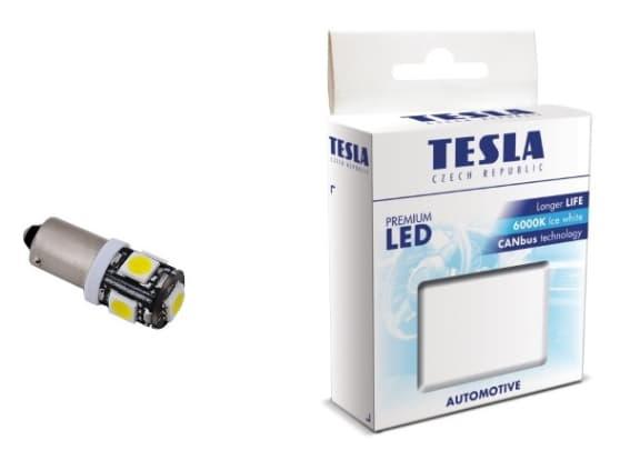Лампа светодиодная Tesla T4W LED B94101 2шт