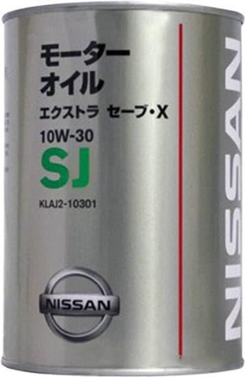 Моторное масло Nissan Extra Save X SJ 10W-30 1л