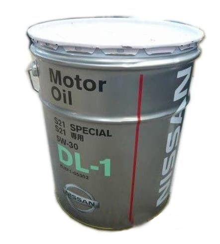 Моторное масло Nissan Clean Diesel Oil DL-1 5W-30 20л