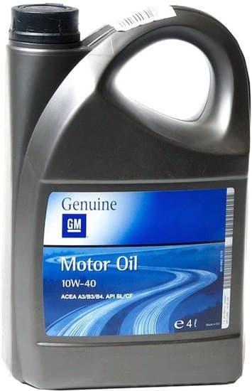 Моторное масло GM OPEL 10W-40 4л
