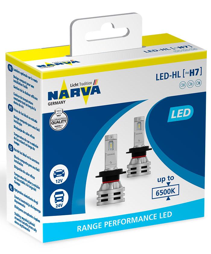 Лампы светодиодные Narva H7 Range Performance LED 2 шт