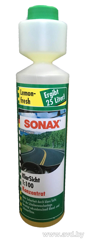 Стеклоомывающая жидкость Sonax 373141 летняя 0,25л (1:100)