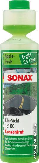 Стеклоомывающая жидкость Sonax 372141 летняя 0,25л (1:100)