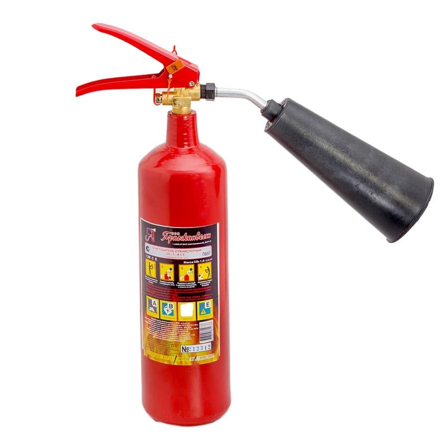 Огнетушитель газовый Ярпожинвест ОУ-1