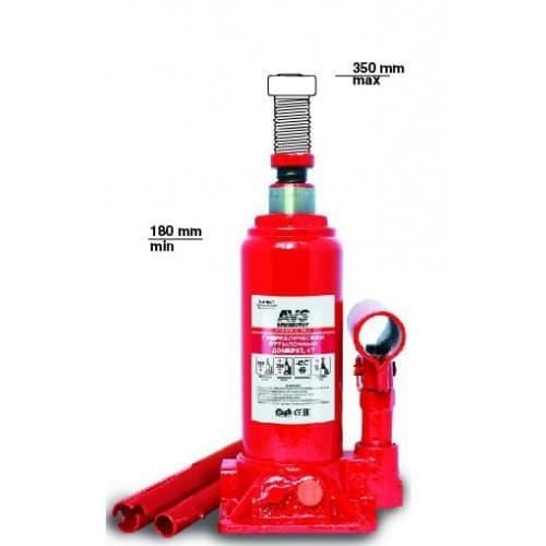 Бутылочный домкрат AVS HJ-B4T 4т