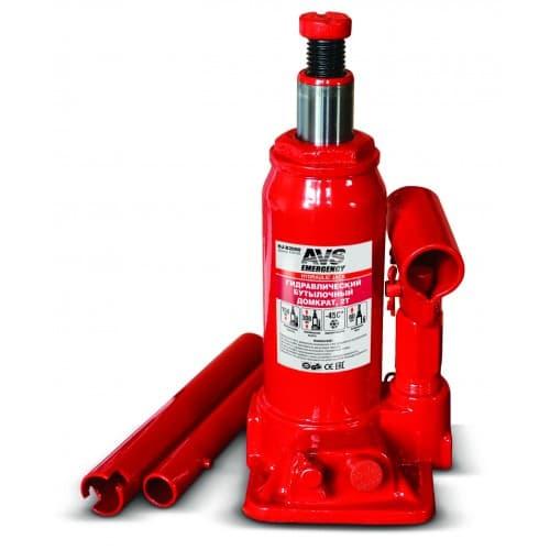 Бутылочный домкрат AVS HJ-B2000 2т