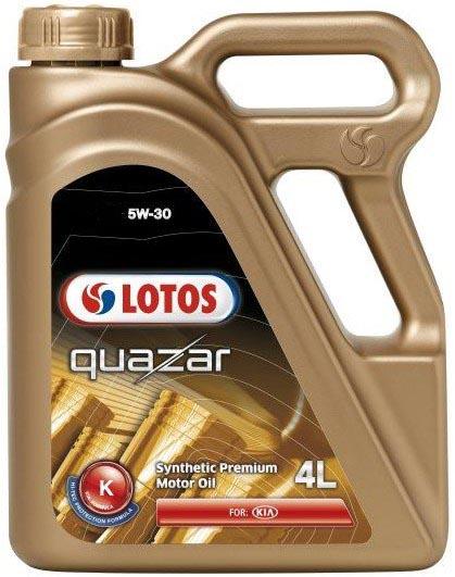 Моторное масло Lotos QUAZAR K 5W-30 4л