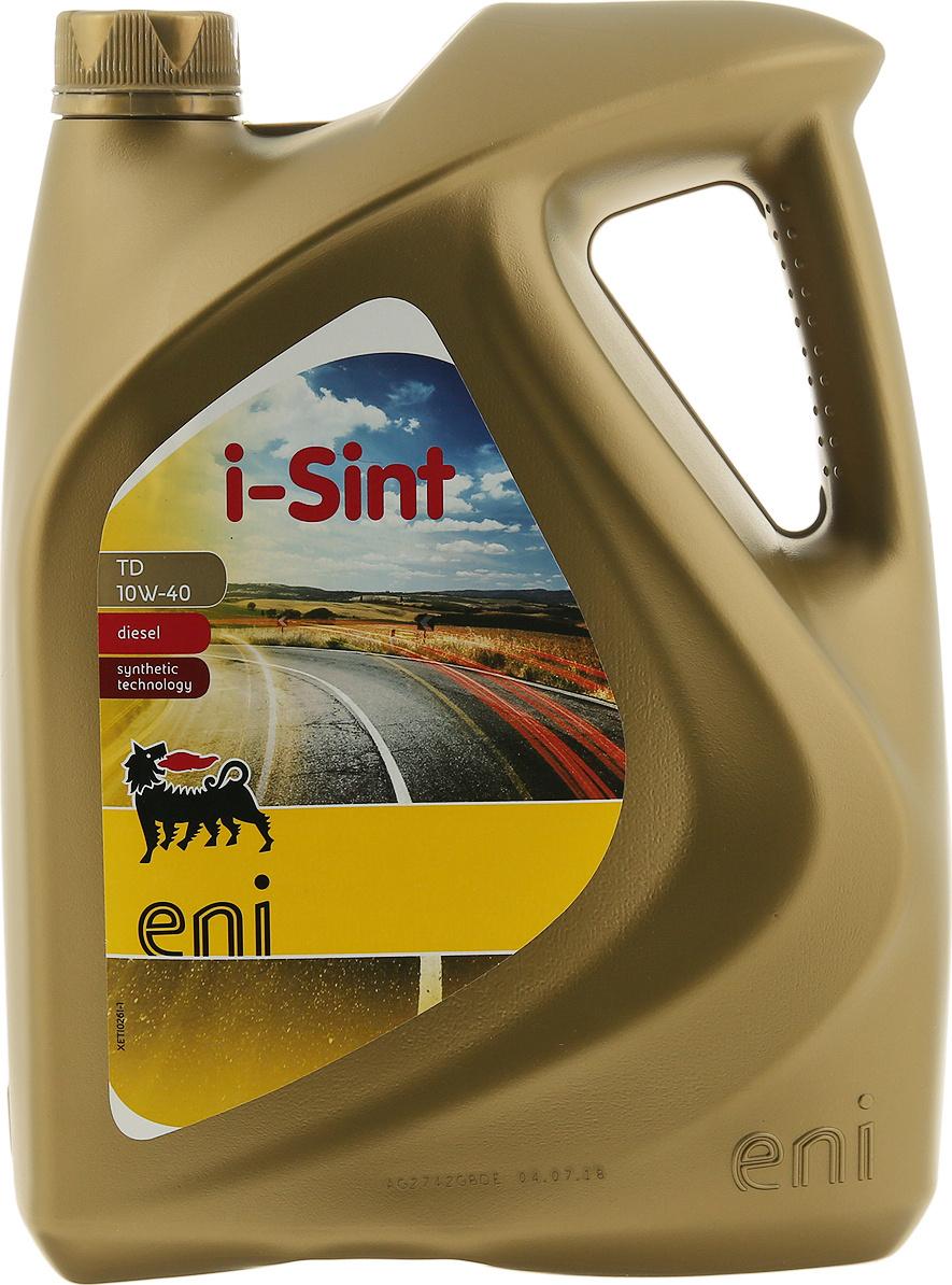 Моторное масло Eni i-Sint TD 10W-40 4л