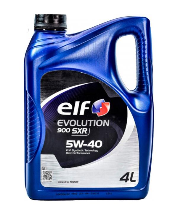 Моторное масло Elf Evolution 900 SXR 5W-40 4л