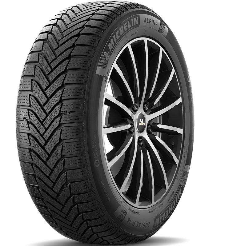 Шины Michelin Alpin 6 205/55R16 91H
