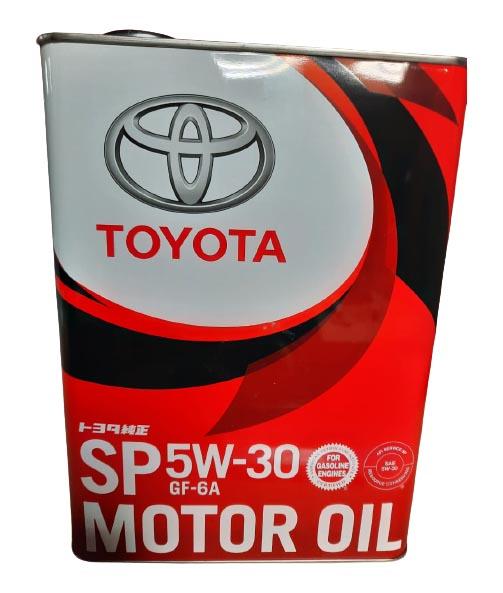 Моторное масло Toyota SP GF-6 5W-30 4л